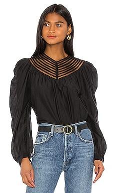 Блузка bennu - Joie Черный фото