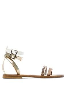 Joie A La Plage Vista Sandal in Nude Multi