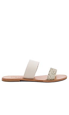 Sable Sandal in Latte