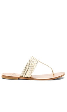 Haile Sandal in Latte