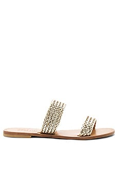 Sable Sandal in Platino