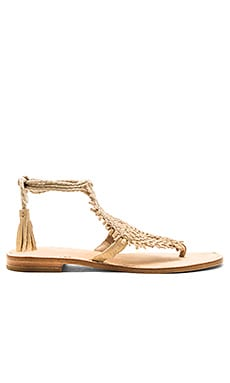 Kacia Sandal in Warm Gold