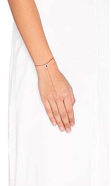 joolz by Martha Calvo Lapis Handchain in Rose Gold