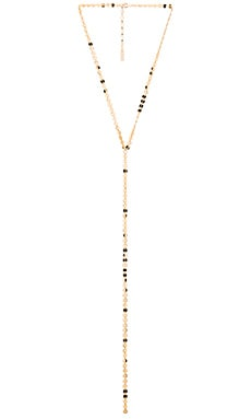 joolz by Martha Calvo Multi Disc Lariat in Gold