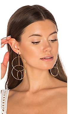 Multi Hoop Earrings in Gold