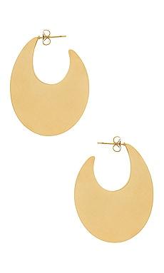 Купить Серьги - joolz by Martha Calvo, Золотой, США, Металлический золотой