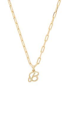 Фото - Ожерелье initial - joolz by Martha Calvo цвет металлический золотой