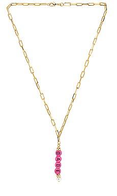 Babe Mood Necklace joolz by Martha Calvo $66