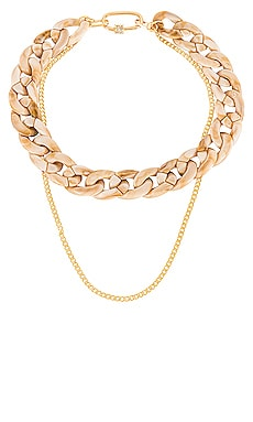 Double Dose Link Necklace joolz by Martha Calvo $143