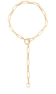 Rectangle Link Chain Necklace joolz by Martha Calvo $176