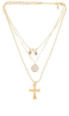 Sacrosanct Necklace Set joolz by Martha Calvo $136