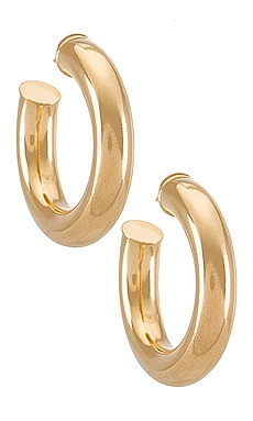 Tubular Hoops Earrings joolz by Martha Calvo $88