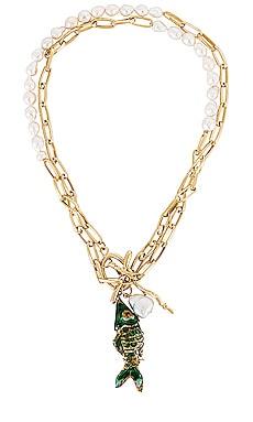 Deep Sea Charm Necklace joolz by Martha Calvo $136