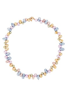 Retro Pearl Necklace joolz by Martha Calvo $165