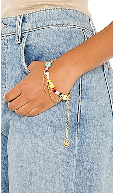 Happy Go Lucky Bracelet joolz by Martha Calvo $132 NEW