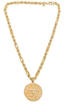 Zodiac Medallion Necklace joolz by Martha Calvo $141