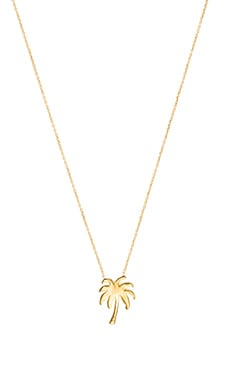 joolz by Martha Calvo Palm Tree Necklace in Gold