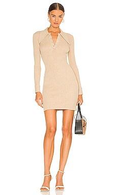 Long Sleeve Mini Polo Dress JoosTricot $475