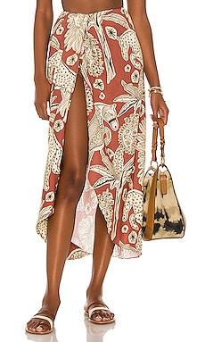 Anoranzas Wrap Skirt Johanna Ortiz $550 NEW