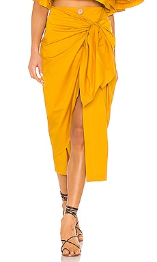 Fresh Lemon Skirt Johanna Ortiz $238