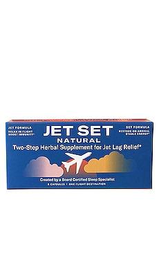 Two-Step Herbal Supplement for Jet Lag Relief JET SET NATURAL $14 BEST SELLER