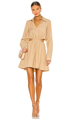 Shaelyn Mini Dress JONATHAN SIMKHAI $325 NEW