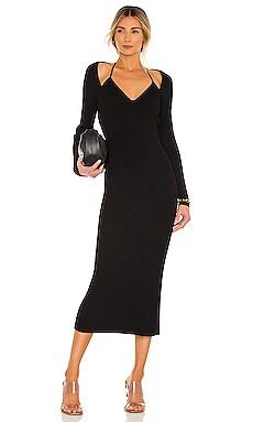 X REVOLVE Liza Midi Dress JONATHAN SIMKHAI $495 NEW