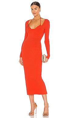 X REVOLVE Liza Midi Dress JONATHAN SIMKHAI $495