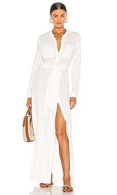 Ester Shirt Dress JONATHAN SIMKHAI $395