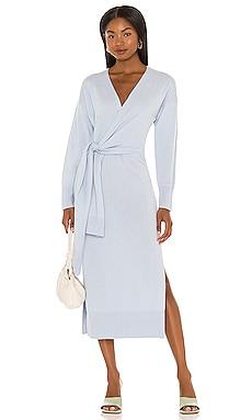 Skyla Knit Wrap Dress JONATHAN SIMKHAI $445
