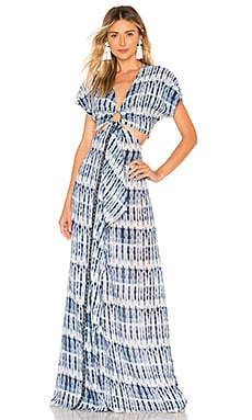 Front Drape Dress JONATHAN SIMKHAI $379