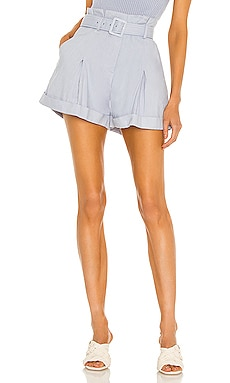 Lillian Linen Shorts JONATHAN SIMKHAI $245 NEW