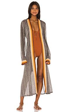 Metallic Kimono JONATHAN SIMKHAI $345