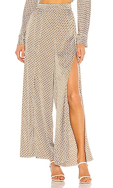 Chain Print Wide Leg Pant JONATHAN SIMKHAI $295 NEW ARRIVAL