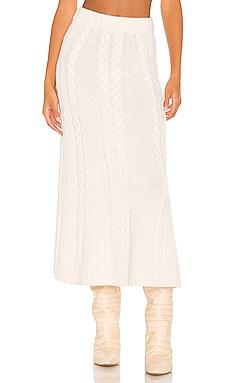 Jovie Cable Skirt JONATHAN SIMKHAI $355 Collections