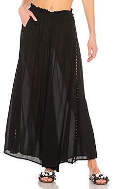 Кружевные брюки-накидка studded - JONATHAN SIMKHAI