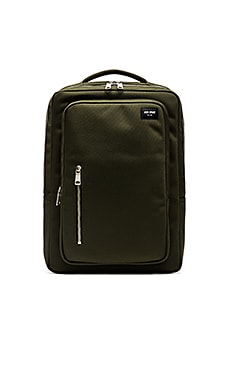 Jack Spade Commuter Nylon Cargo Backpack in Green