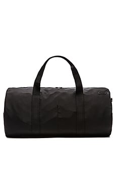 Jack Spade Tech Nylon Gym Duffle in Black