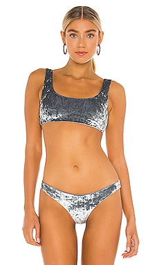 Rounded Edges Bikini Top JADE SWIM $90