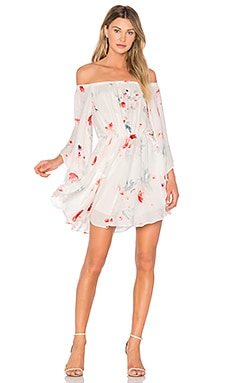 Isabella Mini Dress in Isabella Floral Print
