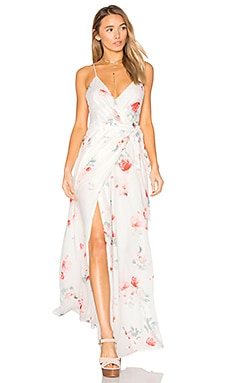 Isabella Maxi Dress in Isabella Floral Print