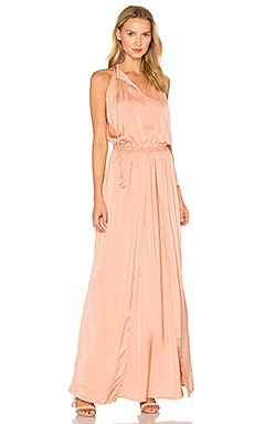 Omara Maxi Dress in Copper