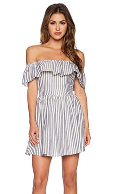 THE JETSET DIARIES Mulher Bonita Dress in Stripe