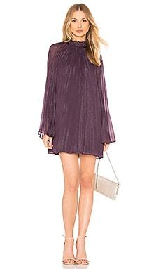 Купить Мини платье shiva - THE JETSET DIARIES, Прямое и свободное, Китай, Фиолетовый