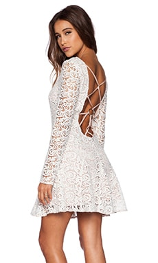 THE JETSET DIARIES Samba Dress in White