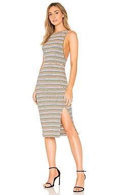 Купить Платье roller girl - THE JETSET DIARIES, Майка, Китай, Металлический золотой