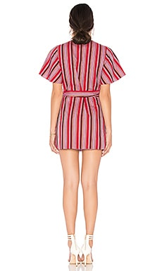 The Jetset Diaries Sundowner Mini Wrap Dress On sale