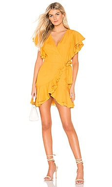 7d30b8f8e9d Slow Ride Wrap Dress THE JETSET DIARIES  119 ...