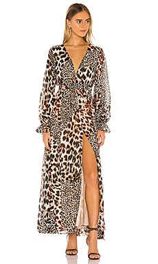 Nine Lives Maxi Dress THE JETSET DIARIES $194