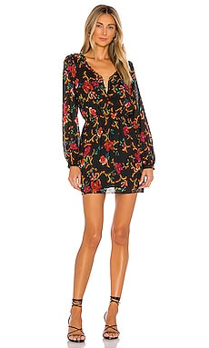 No Rest For The Wicked Mini Dress THE JETSET DIARIES $61